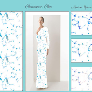 Chinoiserie-chic meets whimsical