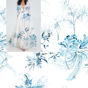 Chinoiserie-Chic Placement Florals