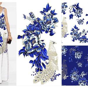 Blue-and-white porcelain