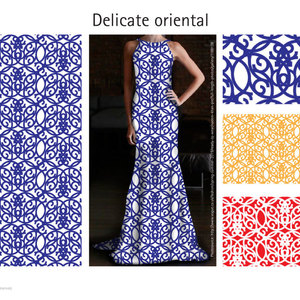 Delicate oriental