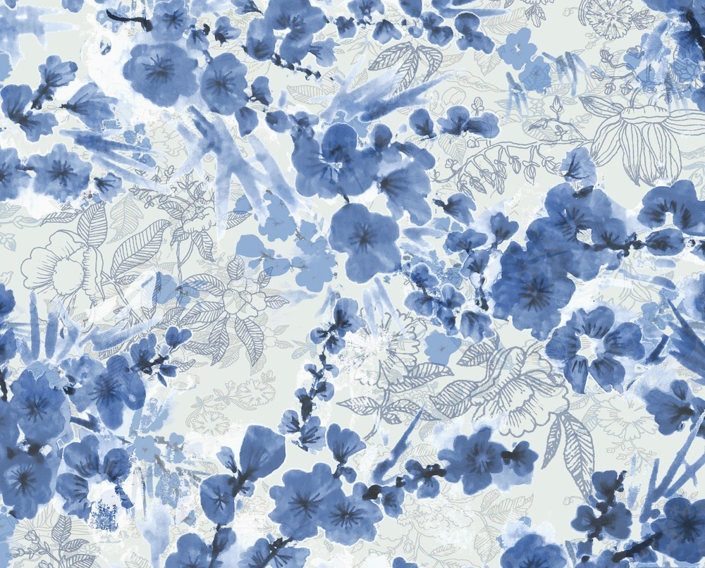 Jovoto chinoiserie border chinoiserie chic a textile for Chinoiserie design