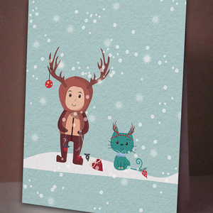 let`s all be raindeers tonight!!