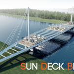 """""""sun deck"""" bridge"""