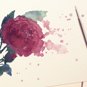 Watercolor Bloom