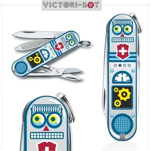 VICTORI-BOT ( A RETRO ROBOT IN YOUR VICTORINOX ) FINAL UPDATE