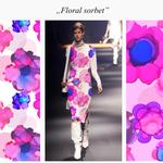 Floral sorbet
