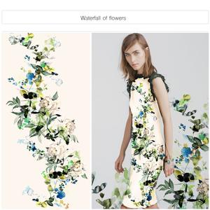 Waterfall of flowers