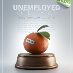 UNEMPLOYED OF THE YEAR -