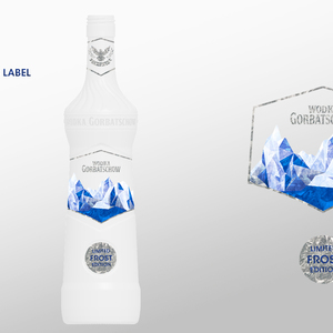 Frost Holographic Label