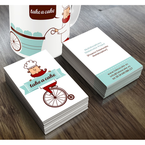 Development of the graphic identification for the branding Take a Cake®