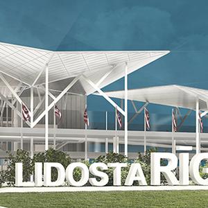 RIGA International Airport extension and Rail Baltica railway station