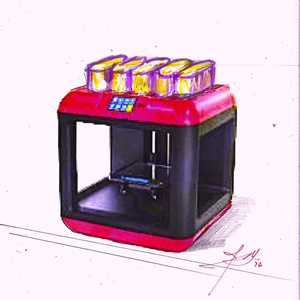 3D FULLY COOKED MEAL PRINTER