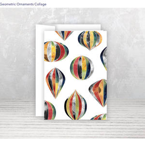 Geometric Ornaments Collage