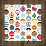 Joyous Kids & Christmas Baubles
