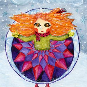Winter girl 1