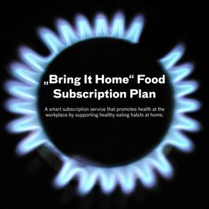 """Bring It Home"" Food Subscription Plan"