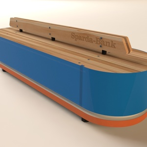 2 module bench