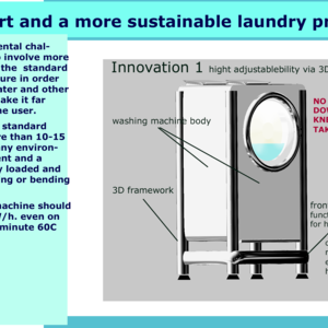 More Comfort and a more sustainable laundry practices UPDATE