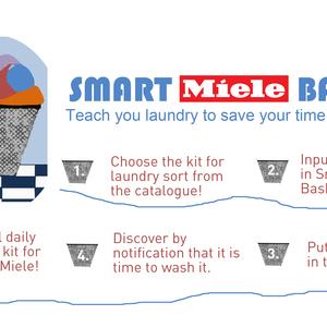 Smart laundry basket