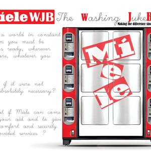 Miele WJB - The jukebox washing machine