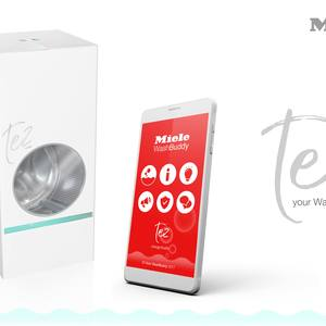 Tez washing machine and WashBuddy app