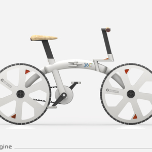 WAY 360° | Recycled Foldable Bike