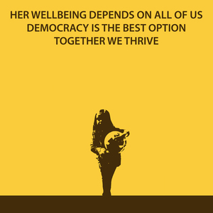 HER WELLBEING DEPENDS OF ALL OF US