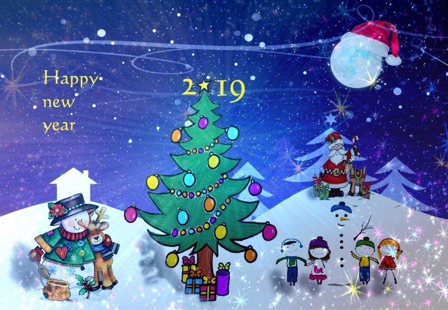 Unicef Christmas Cards 2019 jovoto / new year 2019 design for Children / Your Design for