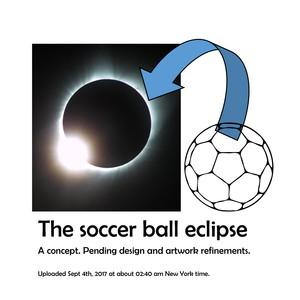 Soccer ball eclipse