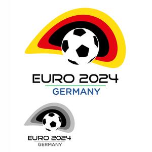 Euro 2024 Flag Stadium