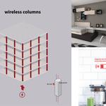 Wireless columns
