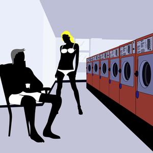 Die Joghurtexplosion - eine seltsame Begegnung im Waschsalon