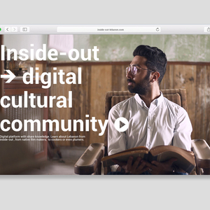 Inside-out - Digital Cultural Community for Lebanon