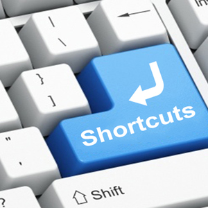 Shortcuts for newbies